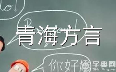 青海方言用语