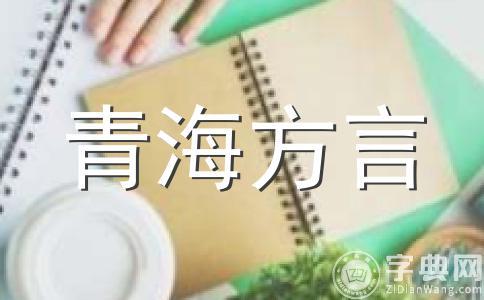 青海方言小段子